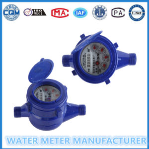 Dn15mm Dry Dial Cold Water Meter of ABS Plastic Material pictures & photos