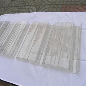Polycarbonate PC Translucent Color Corrugated Sheet pictures & photos