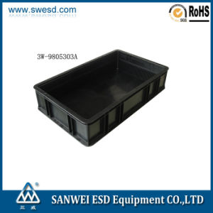 Antistatic Black Circulation Box 3W-9805303A pictures & photos
