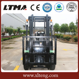 Ltma 1.5 Ton Small Electric Forklift Truck Work in Container pictures & photos