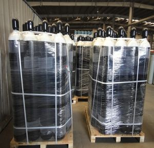 OEM Seamless Steel Oxygen Cylinders (WMA219-40-15) pictures & photos