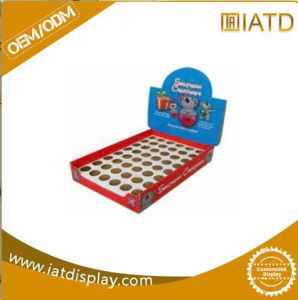 Cosmetic Cardboard Display Stand Counter Display Case pictures & photos