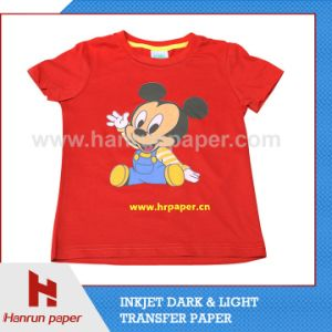 A4 Sheet Size Inkjet PU Film Heat Transfer Paper for Cotton T-Shirt and Cotton Fabric pictures & photos