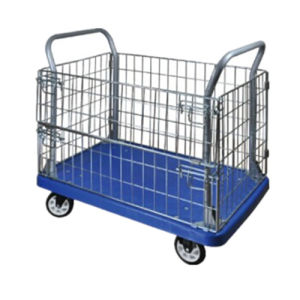 Mute Platform Cart with Wheels for Handling (Capacity: 500kg) pictures & photos