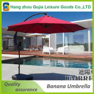 3m Round Cantilever Waterproof Patio Poolside Umbrella pictures & photos