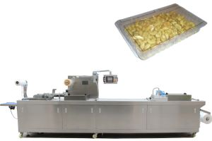 Automatic Cashews Nuts Thermoforming Vacuum Map Packaging Machine Line in Rigid Film pictures & photos