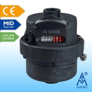MID Certificated Volumetric Piston Plastic Water Meter pictures & photos
