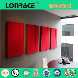 Polyester Fiber Acoustic Wall Panel pictures & photos