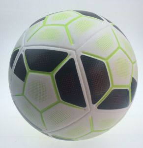 PVC Seamless Sticking Soccer Balls Size 5 pictures & photos