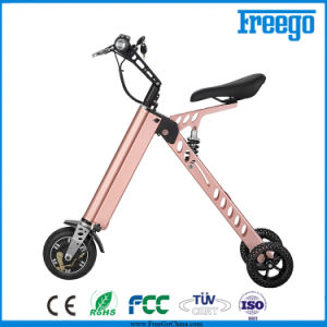 China foldable three wheel electric mobility scooter for for Folding motorized scooter for adults