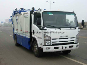 Professional Supply Isuzu Sanitation Garbage Compactor Truck of 10m3 Tank Size