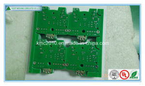 Routing Double Sided Hal PCB with Green Solder Mask pictures & photos