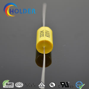 Axial Lead Typemetallized Ployester Film Capacitor (CL20 333K/630V) pictures & photos