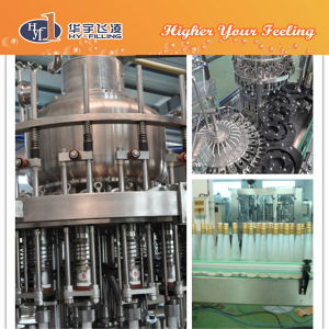 Hy-Filling Glass Fruit Juice Hot Filling Machine pictures & photos