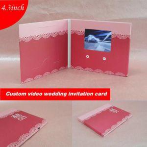 Slim Digital Advertising Video Greeting Card pictures & photos