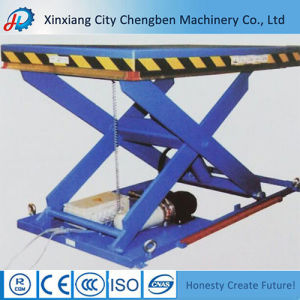 Chengben Heavy Duty Hydraulic Scissor Lift Table pictures & photos