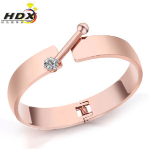 Female Fashion Jewelry Stainless Steel Bracelet pictures & photos