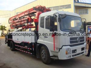 Sn5216thb 21 Concrete Boom Pump Truck