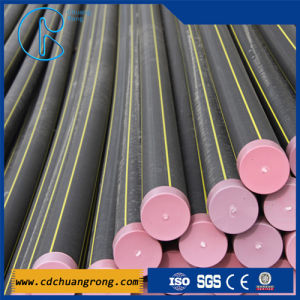 HDPE Gas Supply Polyethylene Plastic Pipe pictures & photos