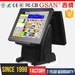 Dual 15 Inch Screen Salon POS Terminal PC pictures & photos