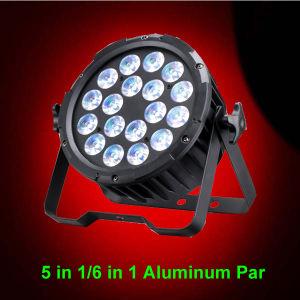 Indoor Stage Wash 18X18W Rgabwuv PAR LED Effect Light