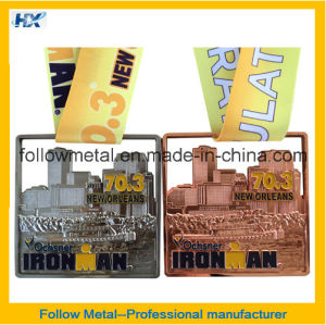 High Quality 3D Medal with Different Plating