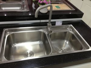 Kitchen Sink Stainless Steel Sink Kitchen Ware Sink (8143G) pictures & photos