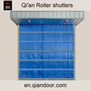 Glass Fiber Curtain Fire Roller Shutter pictures & photos