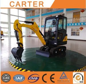 CT18-9ds (0.04m3 bucket&retractable chassis) Hydraulic Backhoe Excavator pictures & photos
