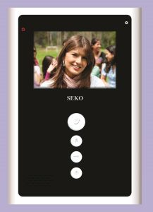3.8 Inch Hands Free Color Video Door Phone pictures & photos