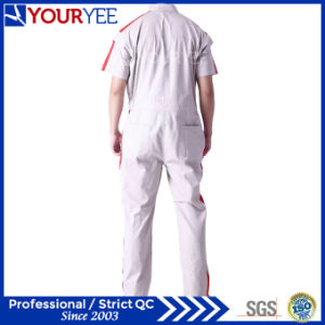 Short Sleeve Coveralls White Workwear for Summer (YLT116) pictures & photos
