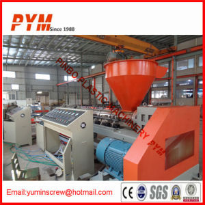 Two Stage Plastic Recycling Machine for HDPE pictures & photos