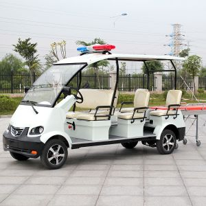 6 Seats CE Approval Comfortable Electric Emergency Ambulance (DVJH-1) pictures & photos