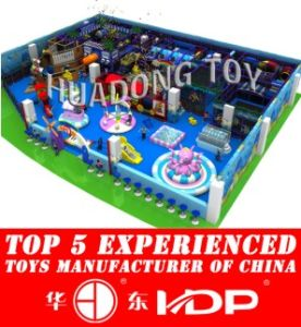 2016 Newest Outer Spacetheme Children Indoor Playground Equipment Priceshd15b-027A pictures & photos