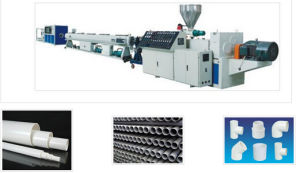 Plastic Pipe Extrusion Production Line, Mainly Making PVC Pipes pictures & photos