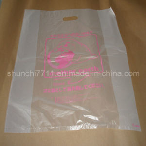 Clear HDPE Printing Shopping Bag (According to your need) pictures & photos