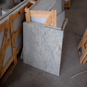 Polished Kashmire White Granite for Kitchen Island pictures & photos