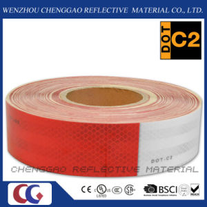 Red & White DOT 3m Truck Reflective Tape for Vehicle Conspicuity pictures & photos