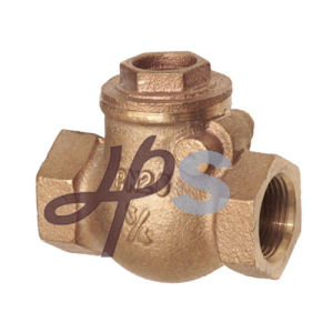 Bronze Casting C83600 F/M Thread Swing Check Valve Manufacturer pictures & photos