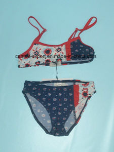 Wireless Allover Printed Fashion Women Swimwear pictures & photos