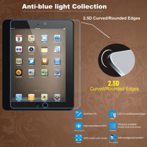 Anti-Blue Clear Tempered Glass Screen Protector for iPad pictures & photos
