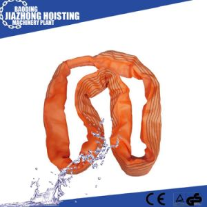 CE GS Approved 6 Ton Polyester Flat Woven Webbing Slings pictures & photos