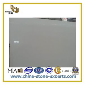 Natural White Artificial Stone Quartz for Countertop, Vanity Top (YQC) pictures & photos