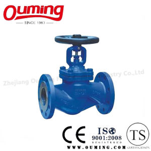 DIN Stainless Steel Flanged Globe Valve pictures & photos