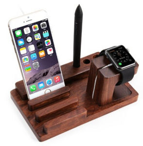 Factory Price for Apple Watch Rosewood Stand, Charging Dock / Station / Watch Charging Stand Bracket Docking Station Holder