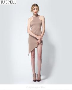 2016 Summer New Sexy Strapless Tight Package Hip Thin Sleeveless Dress Women′s Irregular Skirt Fashion Women Knit Dresses pictures & photos