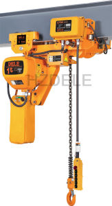 1ton Electric Chain Hoist with Electric Trolley pictures & photos