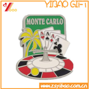 Custom Soft Silver Enamel Badge for Promotional Gifts (YB-LP-54) pictures & photos