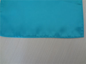 Wholesale Fashion Plain Color Noble Men′s Silk Handkerchief (WH02) pictures & photos