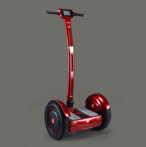off Road 15 Inches 2 Wheel Self Balancing Electric Scooter with Handle Bar pictures & photos
